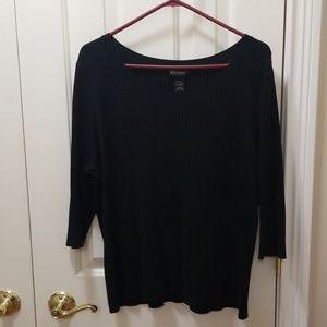 Lane Bryant black sweater sz 18/20